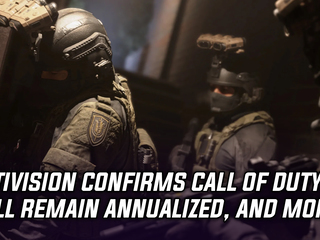 Activision confirms Call of Duty will remain annualized, and more Gaming news