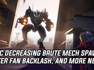 Epic decreasing BRUTE mech spawns after fan backlash, and more Gaming news