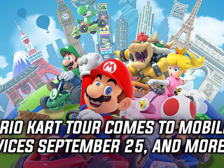 Mario Kart Tour is coming to mobile devices on September 25th, and more Gaming news