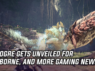 Zinogre gets unveiled for Monster Hunter World, and more Gaming news