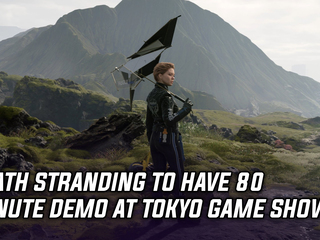 Death Stranding to get 80 minutes of gameplay at Tokyo Game Show, and more Gaming news