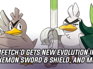 Farfetch'd gets a new evolution in Pokemon Sword & Shield, and more Gaming news