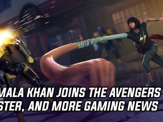 Kamala Khan joins the cast of Marvel's Avengers, and more Gaming news