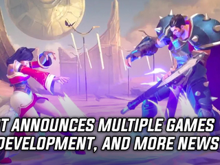 Riot announced multiple games in development, and more Gaming news