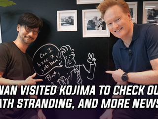 Conan O'Brien is now officially in Death Stranding, and more Gaming news