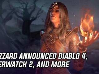 Blizzcon 2019 announces Diablo 4, Overwatch 2 and more