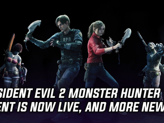 Resident Evil 2 event in Monster Hunter World has gone live, and more Gaming news