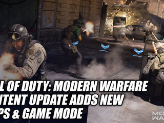 Call of Duty: Modern Warfare Content Update Adds New Maps & Game Mode