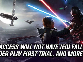 EA Access will not have Jedi Fallen Order Play First trial, and more Gaming news