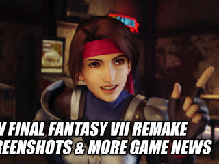 New Final Fantasy VII Remake Screenshots & More Game News