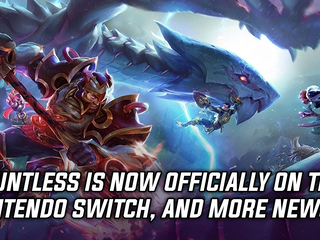 Dauntless is now available on the Nintendo Switch, and more Gaming news