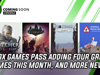 Xbox Game Pass adding four stellar games this month, and more Gaming news