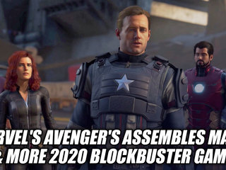 Marvel's Avenger's Assembles May 15 & More 2020 Blockbuster Games