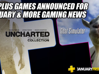 PS Plus Games Announced For January & More Gaming News
