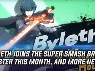Byleth from Fire Emblem: Three Houses is coming to Smash, and more Gaming news