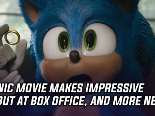 The Sonic movie had an impressive box office debut, and more Gaming news