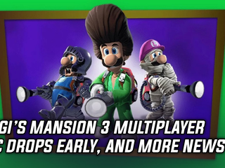 Luigi's Mansion 3 DLC dropped early, and more Gaming news