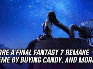 Score a free Final Fantasy 7 Remake theme by buying candy bars, and more Gaming news