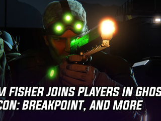 Sam Fisher makes an appearance in Ghost Recon: Breakpoint, and more Gaming news