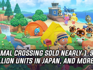 Animal Crossing New Horizons sold amazing in Japan, and more Gaming news