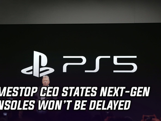 GameStop CEO claims next-gen consoles won't be delayed, and more Gaming news