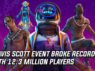 Travis Scott Fortnite event broke records with 12.3 million players, and more Gaming news