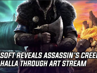 Assassin's Creed Valhalla gets announced during art stream, and more Gaming news