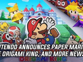 Nintendo announces Paper Mario: The Origami King, and more Gaming news