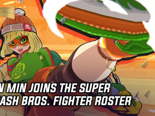 Min Min joins the Super Smash Bros. Ultimate fighter roster