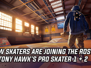 New skaters are joining the roster in Tony Hawk's Pro Skater 1+2
