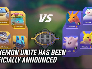 Pokemon Unite has been officially announced