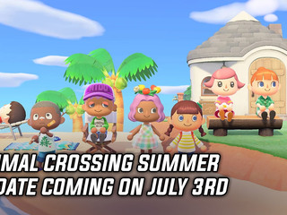 Animal Crossing Summer Update coming on July 3rd