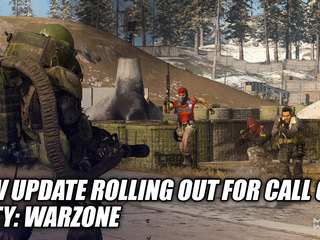 New Update Rolling Out For Call of Duty: Warzone