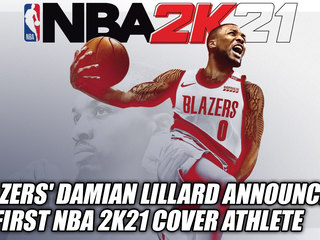 Blazers' Star Damian Lillard Announced As First NBA 2K21 Cover Athlete