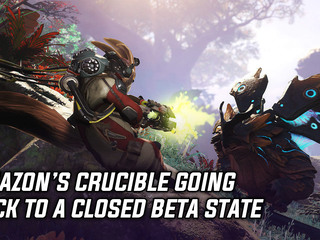 Amazon's Team shooter Crucible is going back to closed beta
