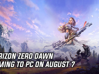 Horizon: Zero Dawn on PC is releasing August 7th