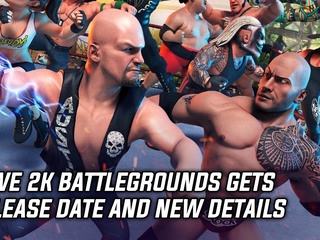 WWE 2k Battlegrounds gets release date and new details