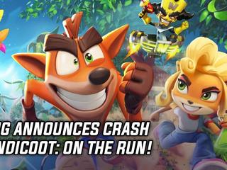 King announces Crash Bandicoot: On the Run!
