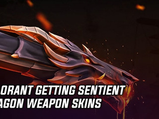 Valorant getting a sentient dragon weapon pack