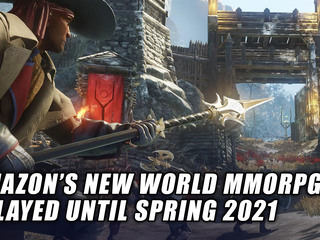 Amazon's New World has been delayed to Spring 2021