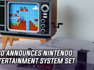 LEGO Nintendo Entertainment System set announced