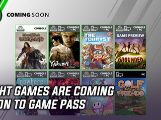 Game Pass is getting eight new games this month