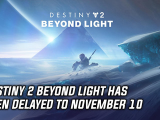 Bungie has delayed 'Beyond Light' expansion to November 10