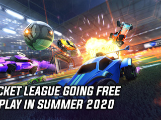 Rocket League going free-to-play in Summer 2020