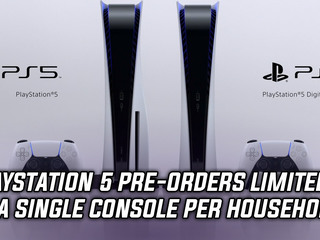 Sony to limit PlayStation 5 pre-orders to a single console per household