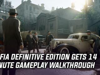 Mafia Definitive Edition gets 14-minute walkthrough video