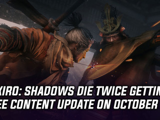Sekiro getting free content update on October 29