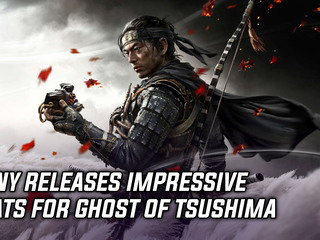 Sony announces impressive Ghost of Tsushima stats