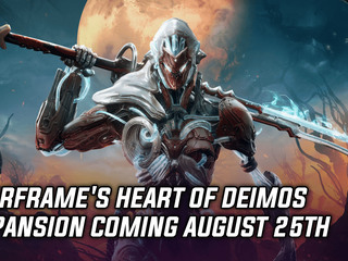 Warframe's Heart of Deimos expansion coming August 25th