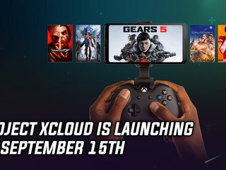 Project xCloud is launching on September 15th